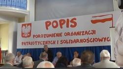 Zamieszczamy komunikat inicjatywy, przyjmującej roboczą nazwę Porozumienie Organizacji Patriotycznych i Solidarnościowych